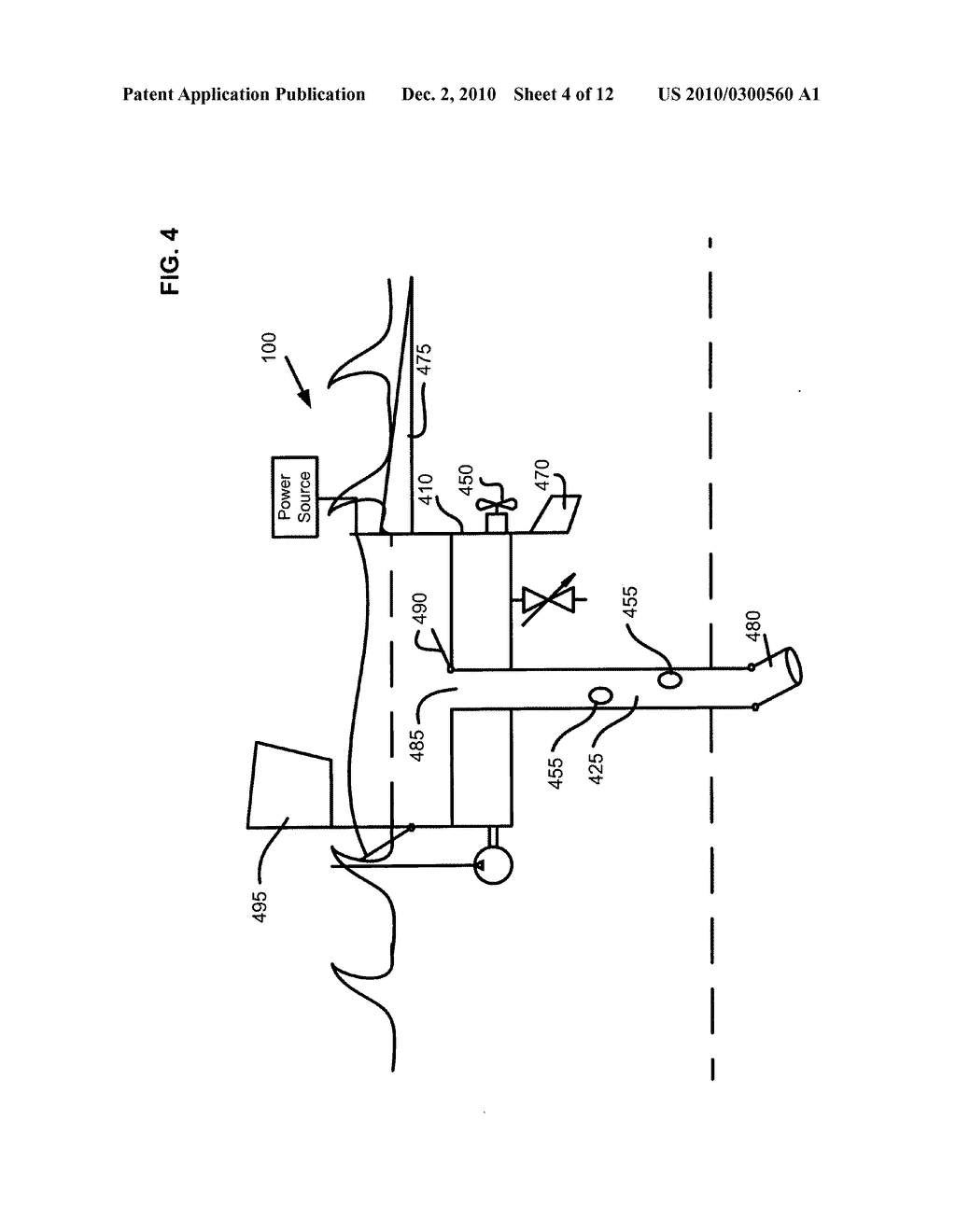 Water alteration structure and system having heat transfer conduit - diagram, schematic, and image 05