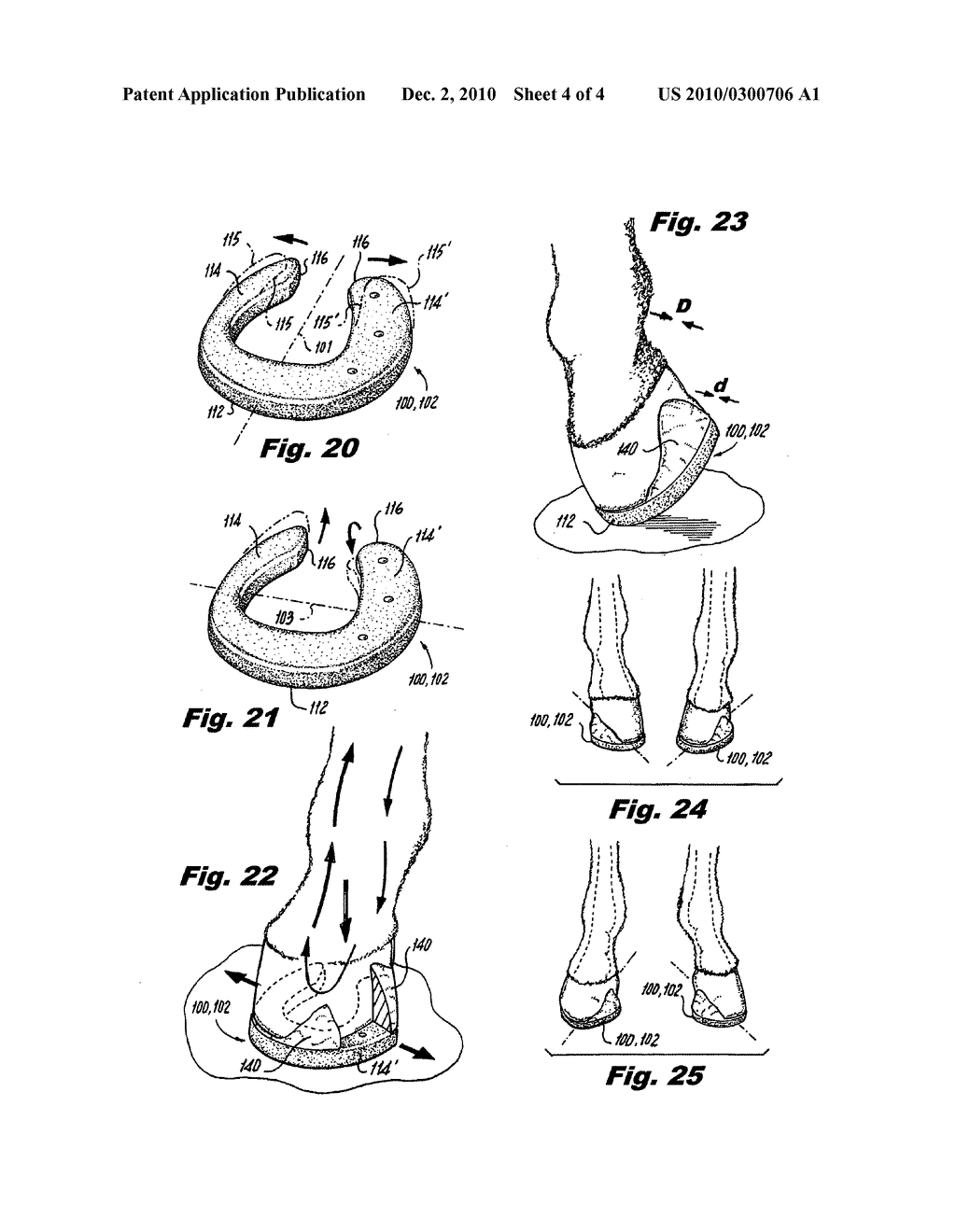 Extension therapeutic horseshoe - diagram, schematic, and image 05