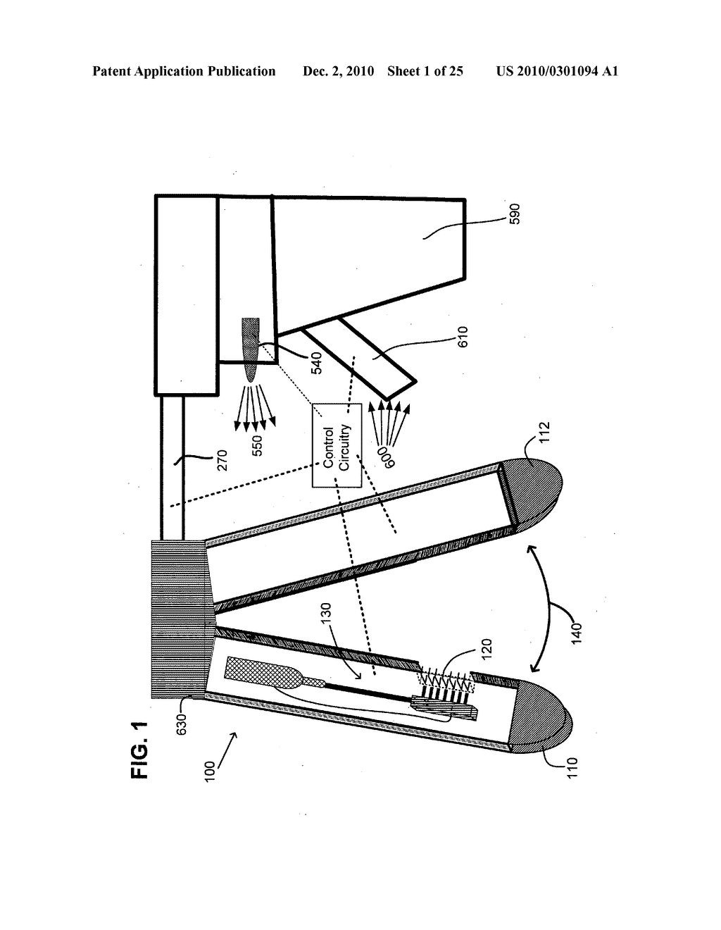 Surgical stapling instrument with chemical sealant - diagram, schematic, and image 02