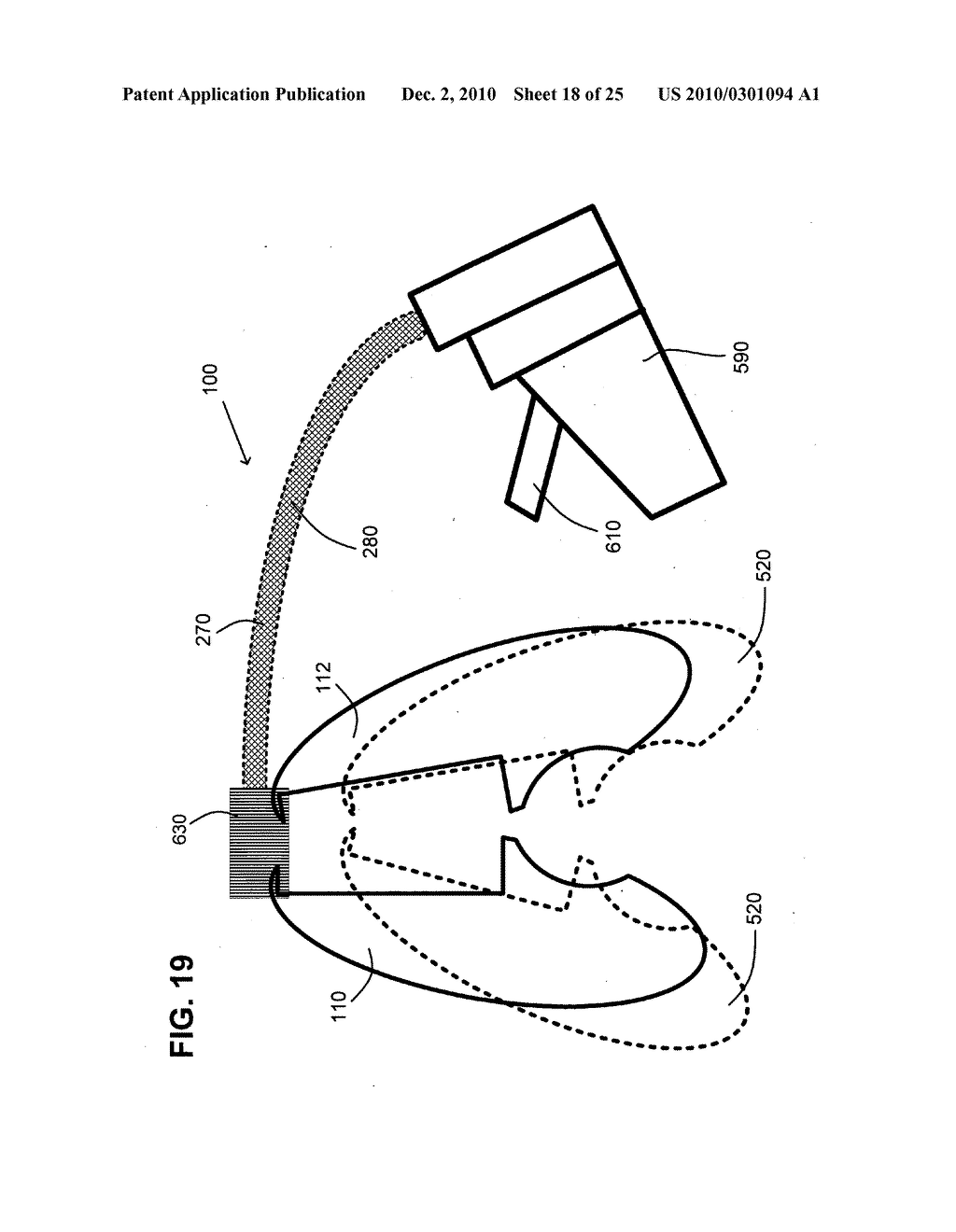 Surgical stapling instrument with chemical sealant - diagram, schematic, and image 19