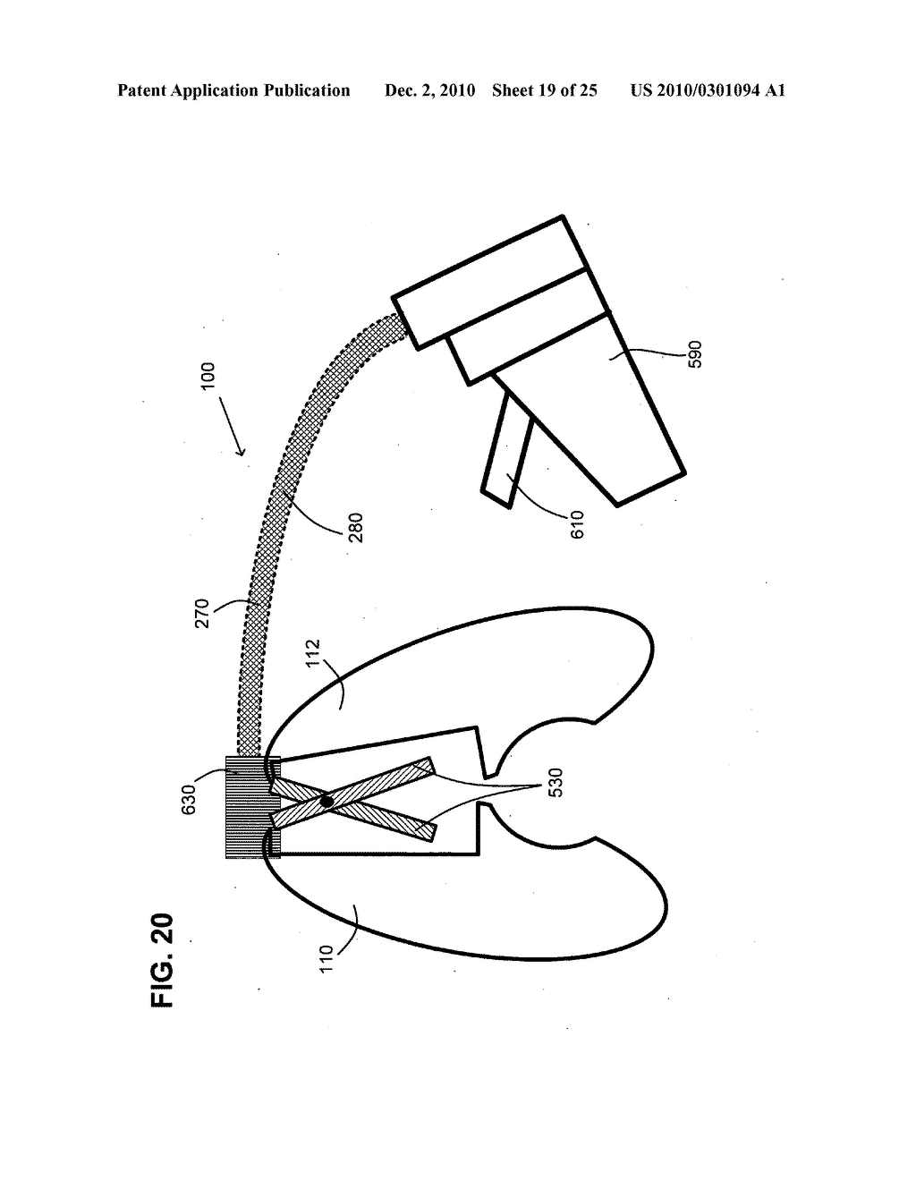 Surgical stapling instrument with chemical sealant - diagram, schematic, and image 20