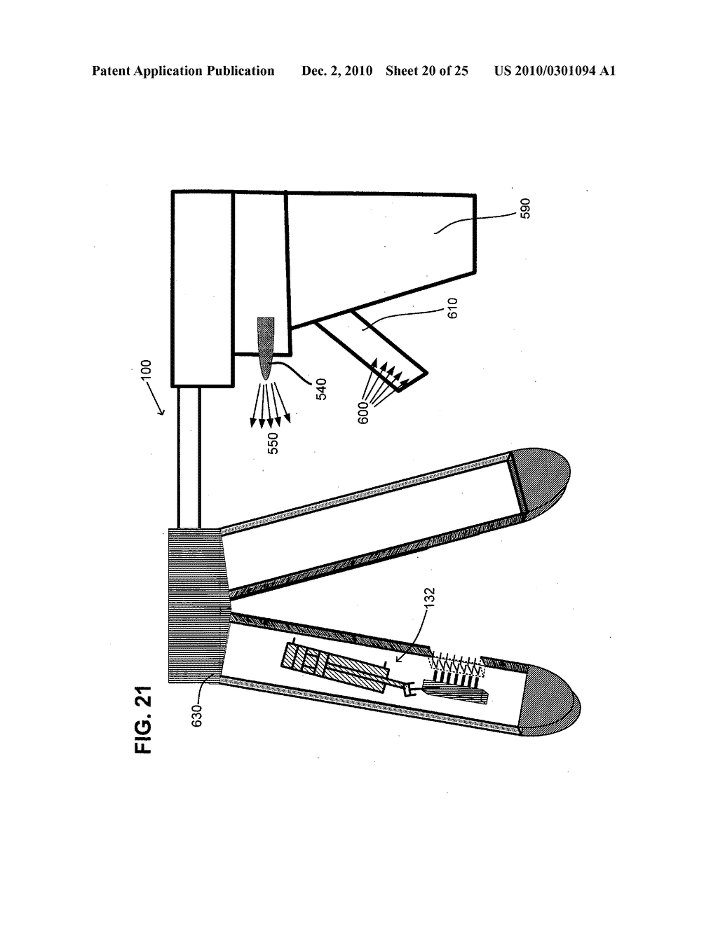 Surgical stapling instrument with chemical sealant - diagram, schematic, and image 21