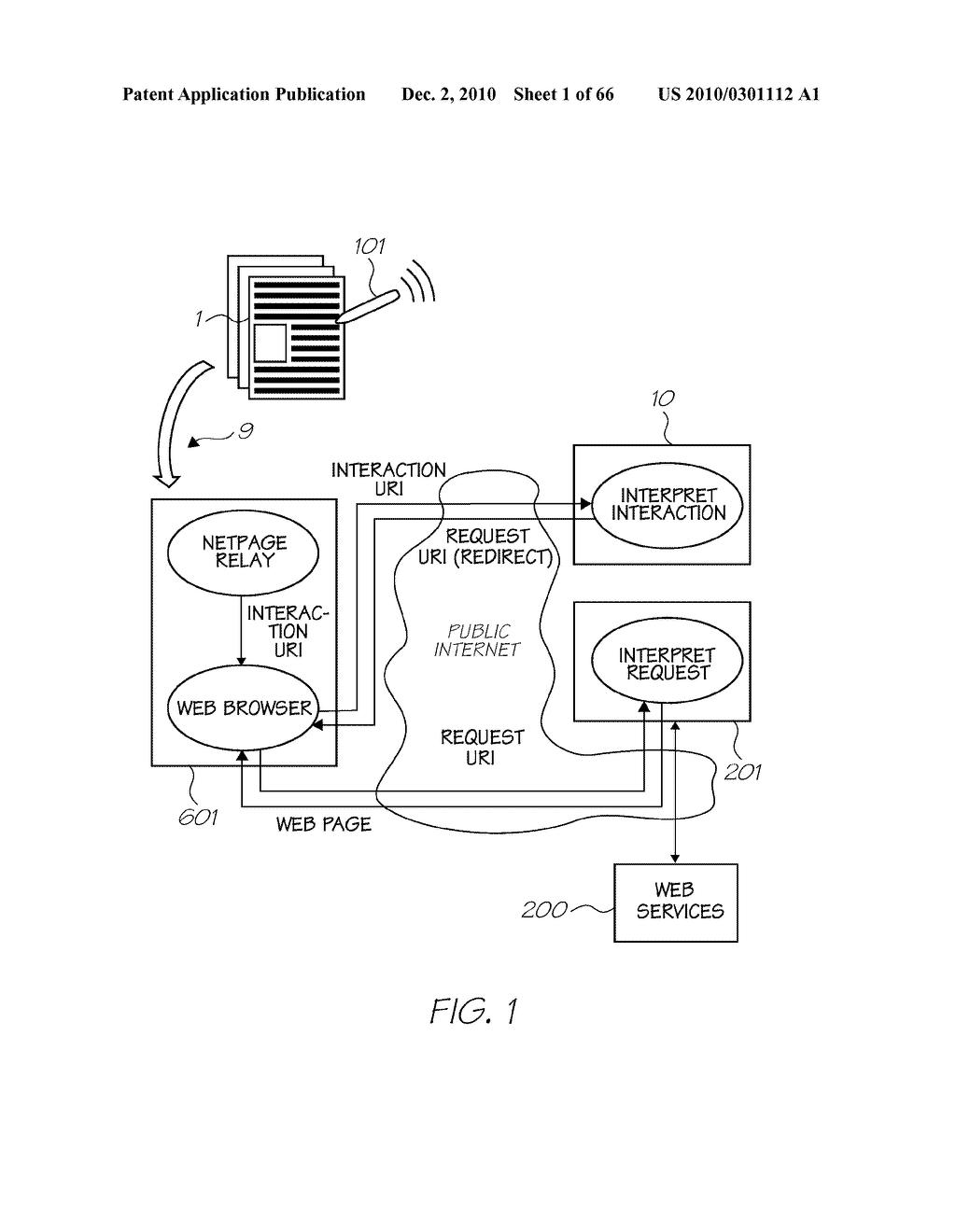SYSTEM FOR PROVIDING INFORMATION TO USER WITH EVERY INTERACTION WITH PRINTED SUBSTRATE - diagram, schematic, and image 02