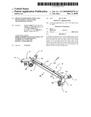 SHEAR CENTER RAISING TWIST AXLE WITH INTERNAL AND TUNABLE TRANSITIONING GUSSETS diagram and image