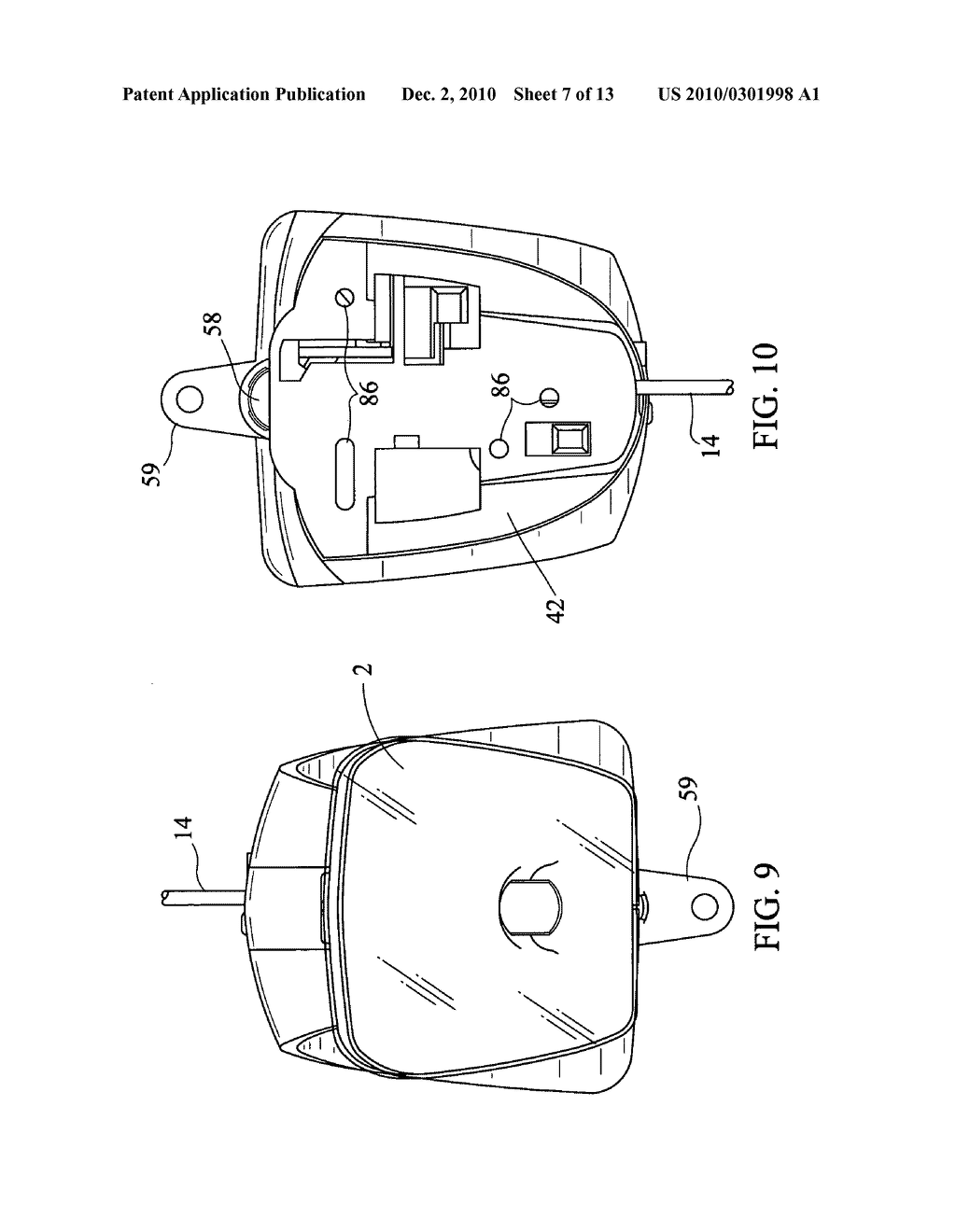 Multi-sensor alarm apparatus, system and/or method for securing articles - diagram, schematic, and image 08