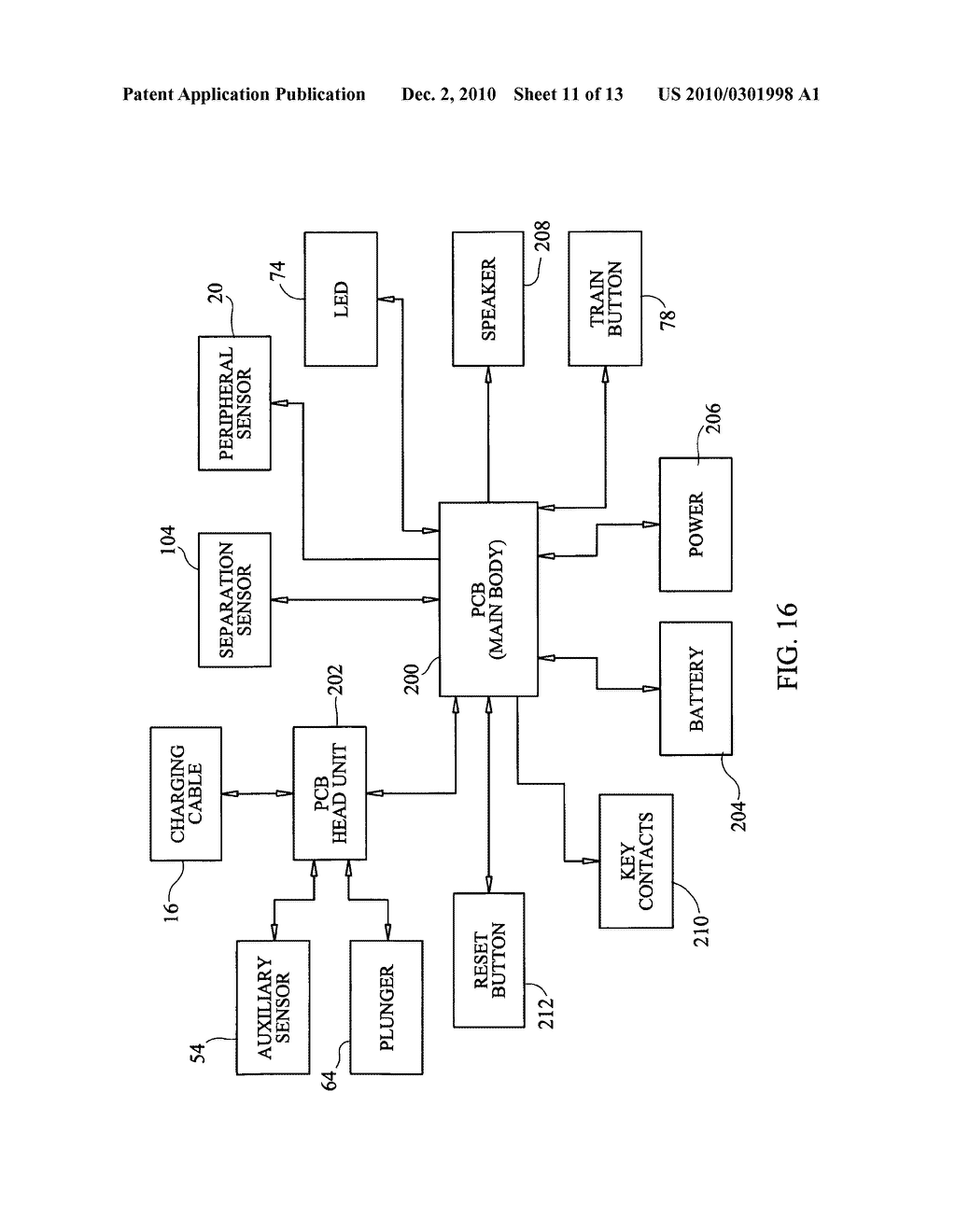 Multi-sensor alarm apparatus, system and/or method for securing articles - diagram, schematic, and image 12