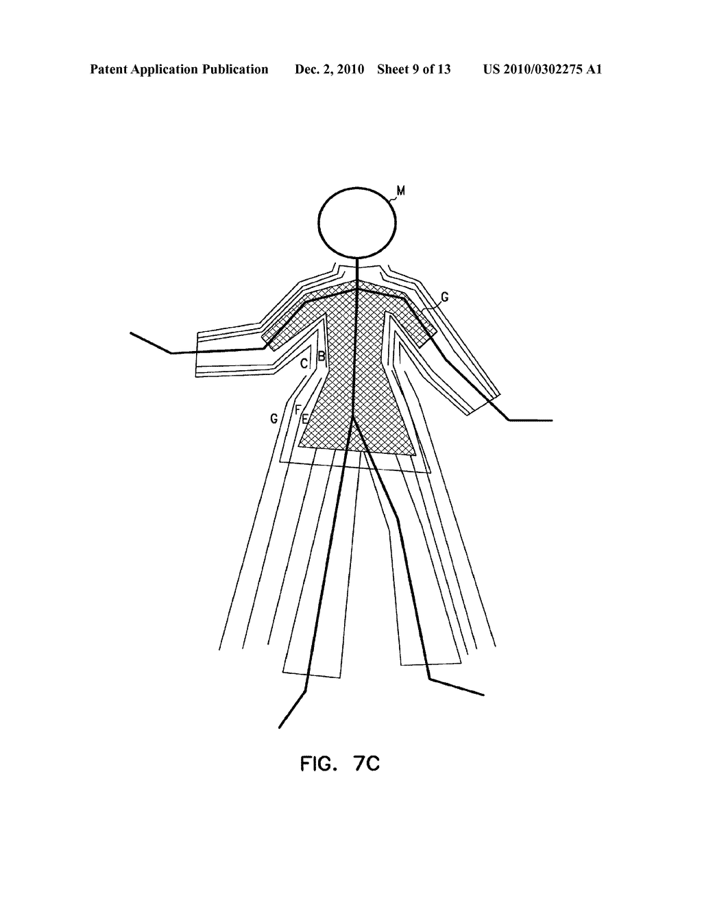 SYSTEM AND METHOD FOR DISPLAYING SELECTED GARMENTS ON A COMPUTER-SIMULATED MANNEQUIN - diagram, schematic, and image 10