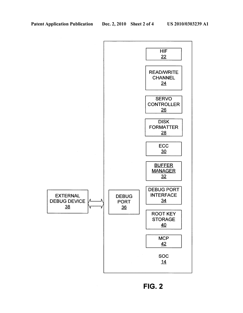 METHOD AND APPARATUS FOR PROTECTING ROOT KEY IN CONTROL SYSTEM - diagram, schematic, and image 03