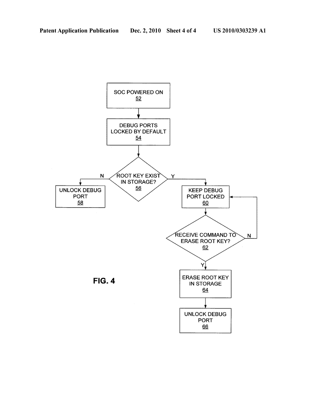 METHOD AND APPARATUS FOR PROTECTING ROOT KEY IN CONTROL SYSTEM - diagram, schematic, and image 05