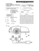Method for ascertaining the axis of rotation of a vehicle wheel diagram and image