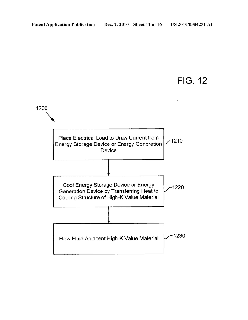 System and method of operating an electrical energy storage device or an electrochemical energy generation device using thermal conductivity materials based on mobile device states and vehicle states - diagram, schematic, and image 12