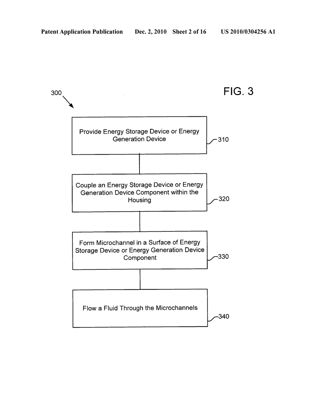Method of operating an electrical energy storage device using microchannels during charge and discharge - diagram, schematic, and image 03