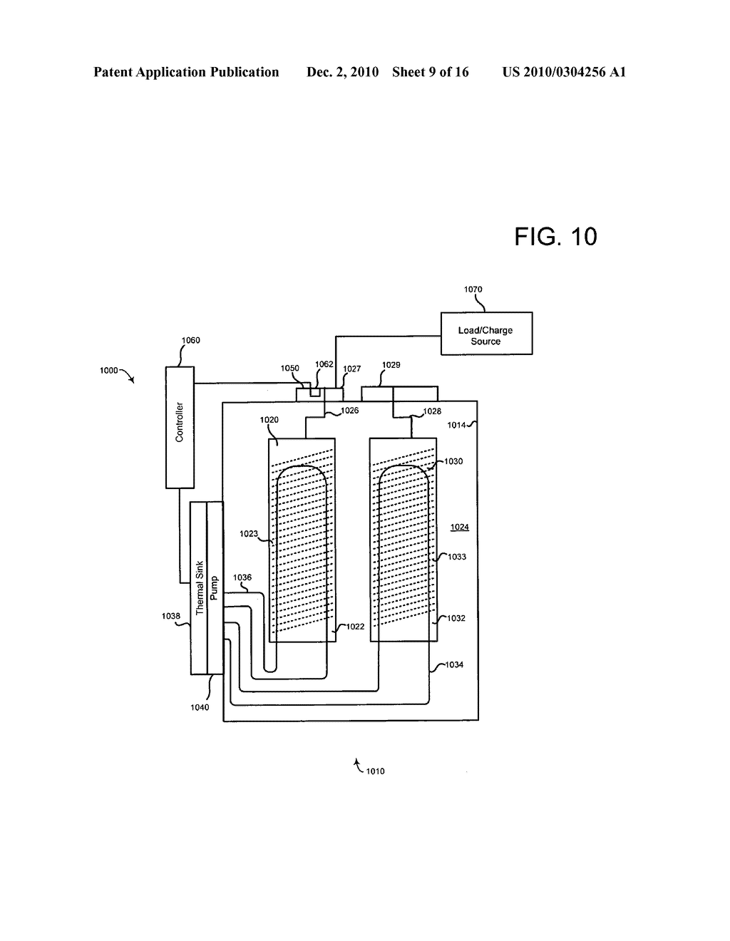 Method of operating an electrical energy storage device using microchannels during charge and discharge - diagram, schematic, and image 10