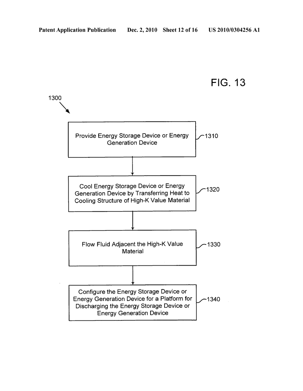 Method of operating an electrical energy storage device using microchannels during charge and discharge - diagram, schematic, and image 13