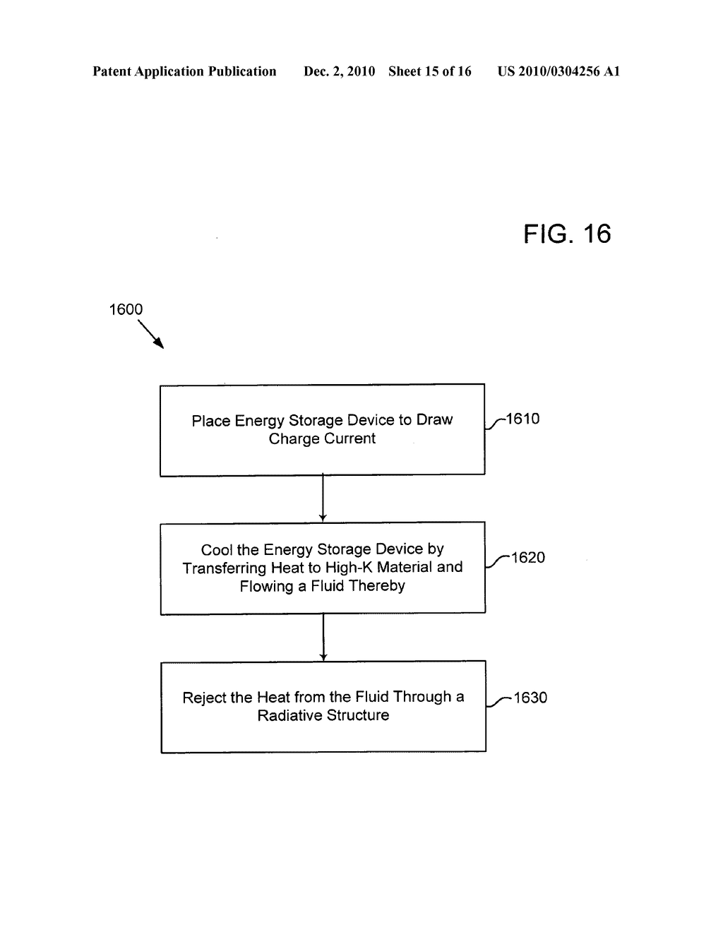 Method of operating an electrical energy storage device using microchannels during charge and discharge - diagram, schematic, and image 16