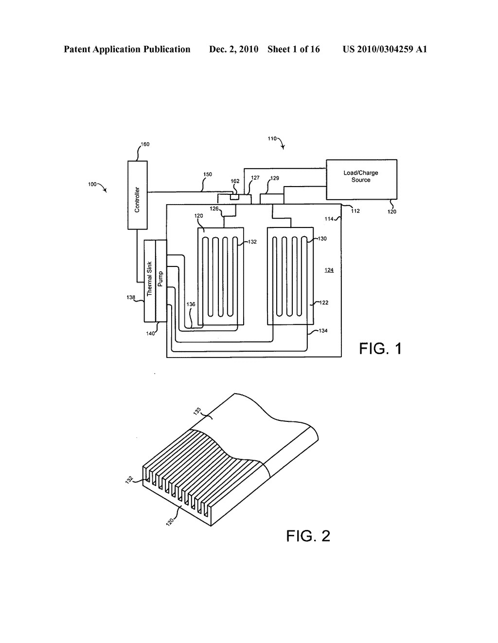 Method of operating an electrical energy storage device or an electrochemical energy generation device using high thermal conductivity materials during charge and discharge - diagram, schematic, and image 02