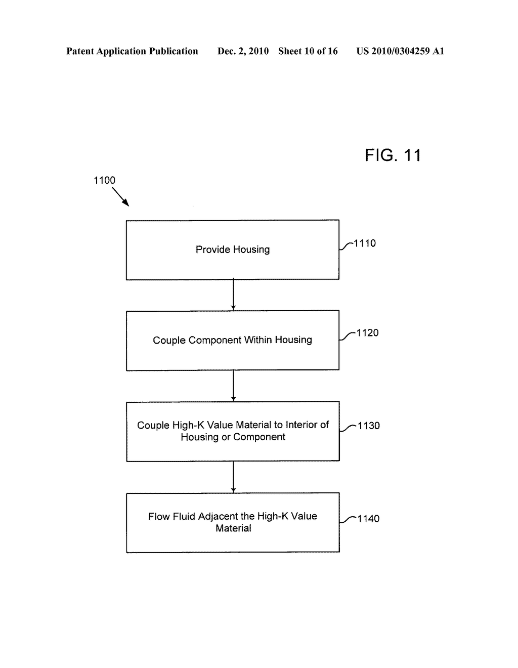 Method of operating an electrical energy storage device or an electrochemical energy generation device using high thermal conductivity materials during charge and discharge - diagram, schematic, and image 11