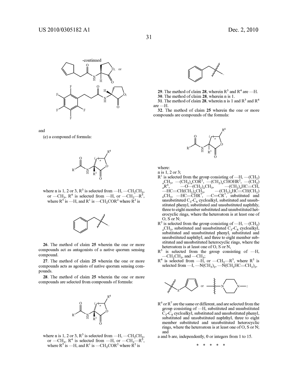 COMPOUNDS AND METHODS FOR MODULATING COMMUNICATION AND VIRULENCE IN QUORUM SENSING BACTERIA - diagram, schematic, and image 108