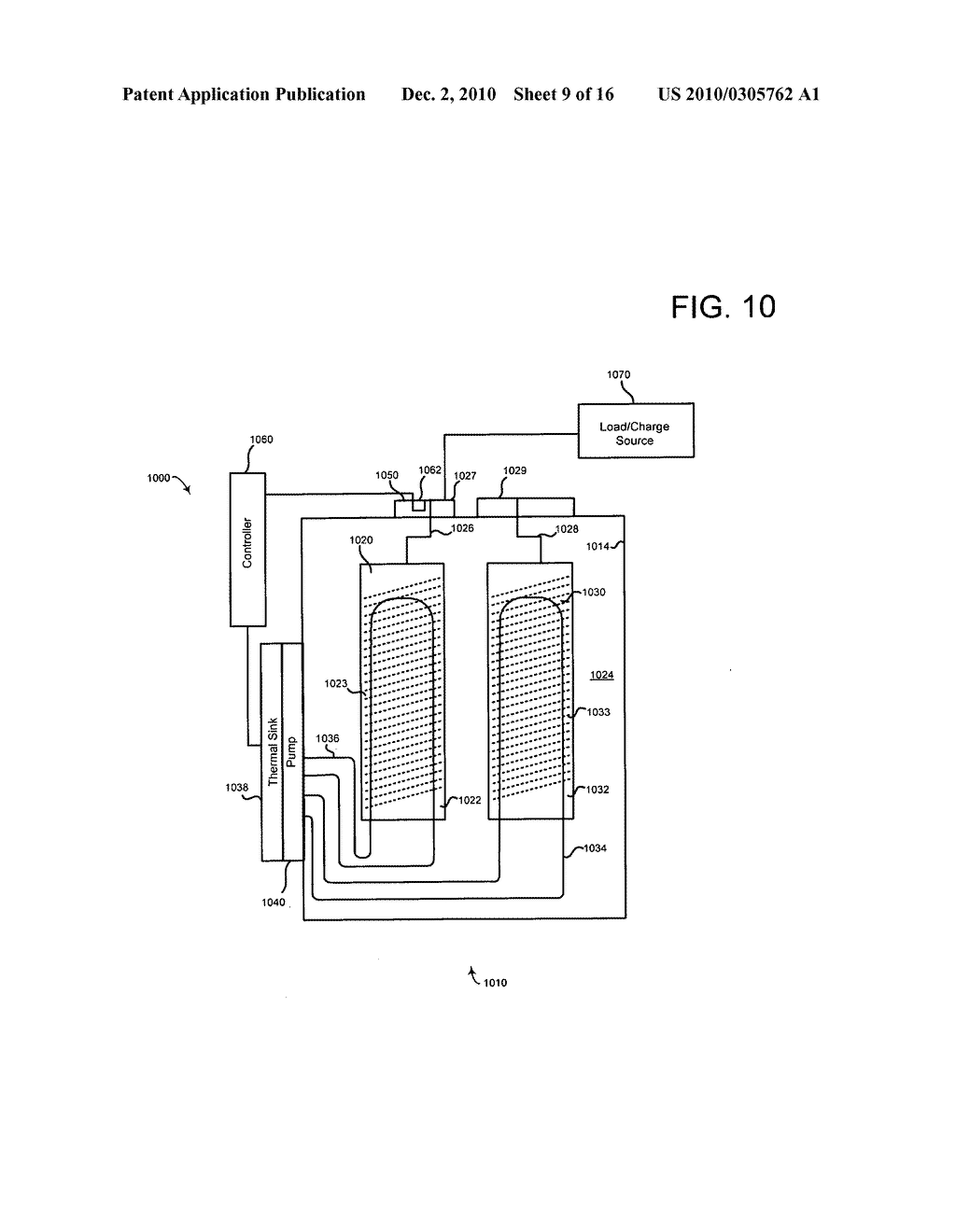 System and method of altering temperature of an electrical energy storage device or an electrochemical energy generation device using microchannels - diagram, schematic, and image 10