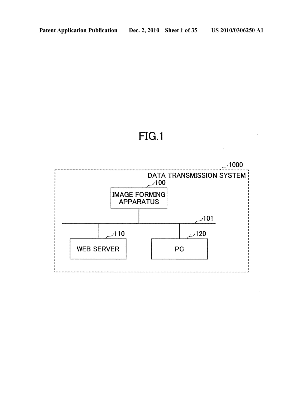 DATA PROCESSING APPARATUS, DATA TRANSMISSION METHOD, AND COMPUTER-READABLE RECORDING MEDIUM FOR DATA TRANSMISSION - diagram, schematic, and image 02
