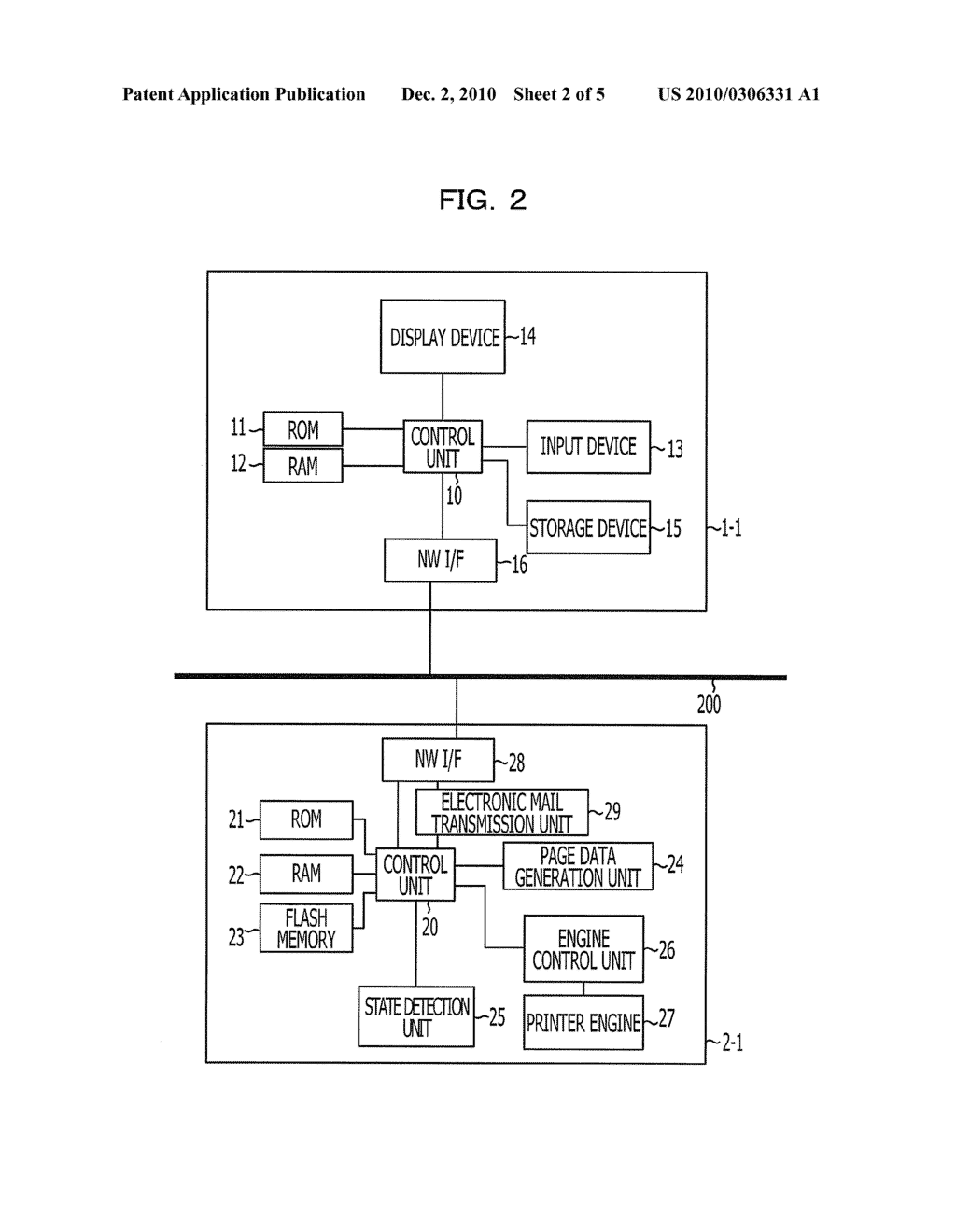 PRINTER, INFORMATION PROCESSING SYSTEM, INFORMATION PROCESSING METHOD, AND COMPUTER-READABLE RECORDING MEDIUM HAVING RECORDED PROGRAM - diagram, schematic, and image 03