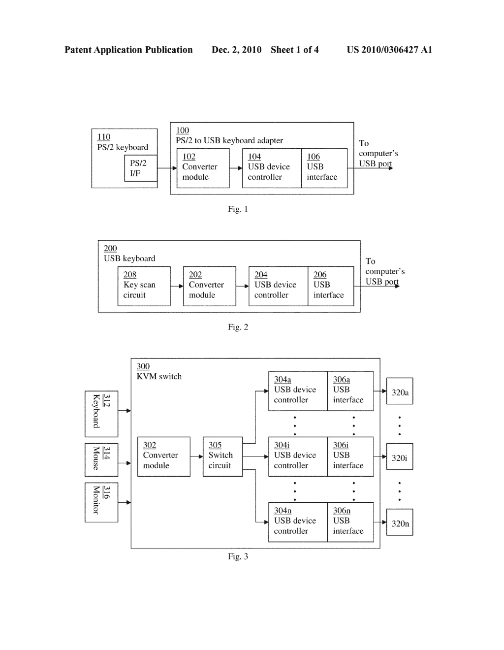 PS/2 TO USB KEYBOARD ADAPTOR SUPPORTING N-KEY ROLLOVER - diagram, schematic,  and image 02