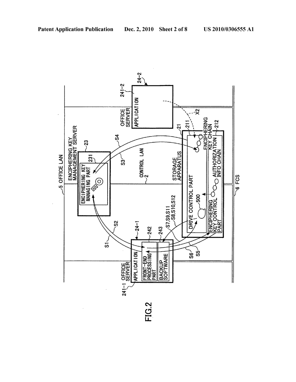 Storage apparatus and authentication method - diagram, schematic, and image 03