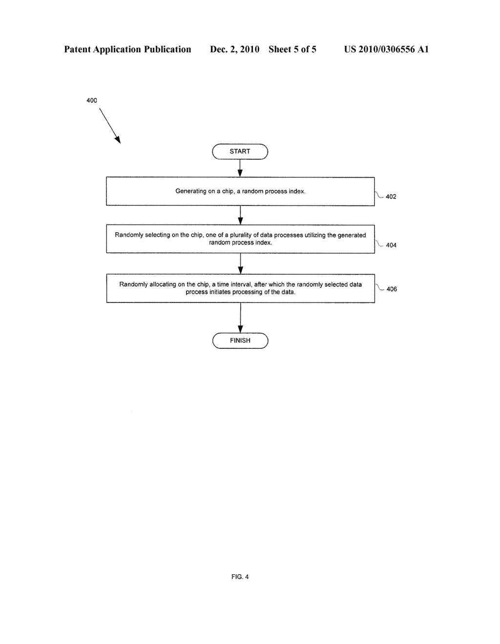 METHOD AND SYSTEM FOR RANDOM DATA ACCESS FOR SECURITY APPLICATIONS - diagram, schematic, and image 06