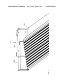 ONE-PIECE INJECTION MOLDED DOOR SILL ASSEMBLY diagram and image