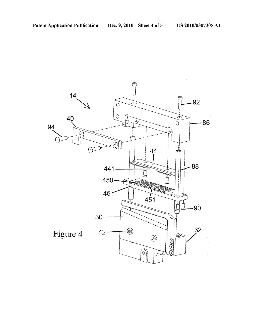 Methods and Apparatus for Singulating Micro-well Tape - diagram, schematic, and image 05