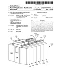 HOT AISLE CONTAINMENT COOLING UNIT AND METHOD FOR COOLING diagram and image