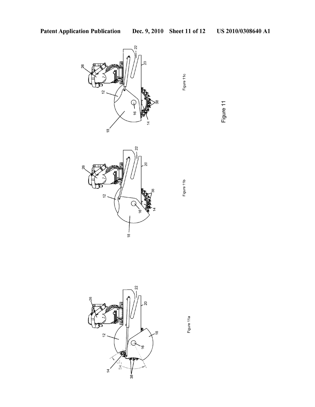 ASPHALT MILLING ATTACHMENT WITH DEPTH CONTROL AND BIT ACCESS - diagram, schematic, and image 12