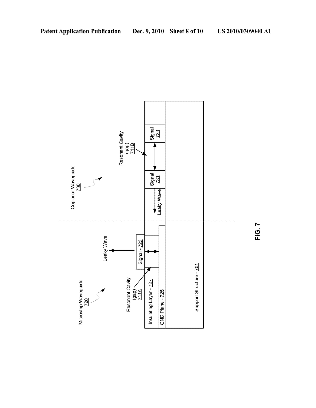 METHOD AND SYSTEM FOR DYNAMIC RANGE DETECTION AND POSITIONING UTILIZING LEAKY WAVE ANTENNAS - diagram, schematic, and image 09
