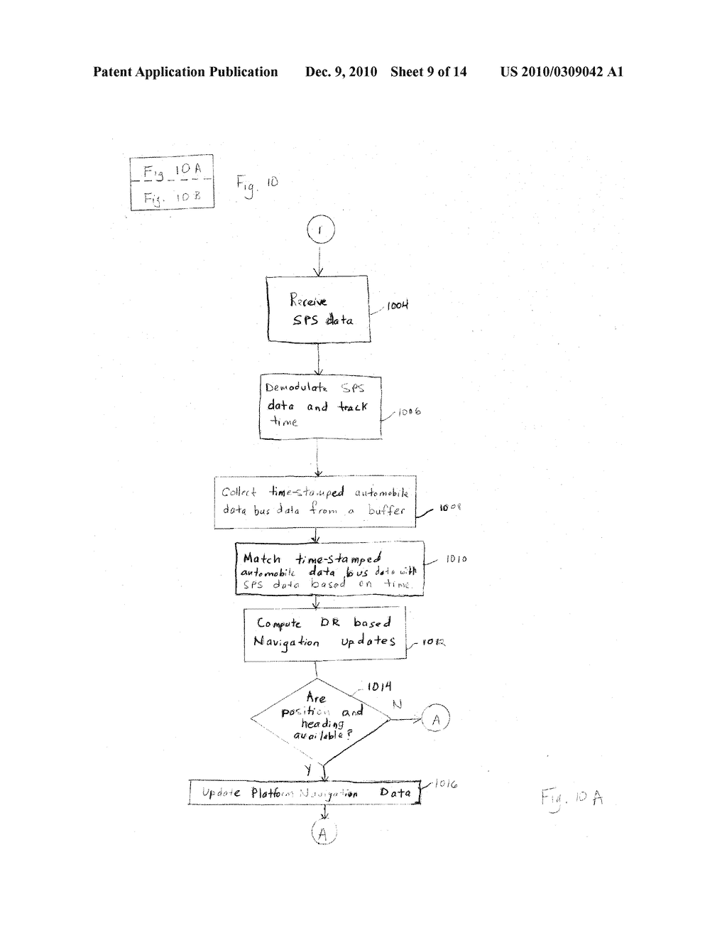 METHOD AND SYSTEM FOR A DATA INTERFACE FOR AIDING A SATELLITE POSITIONING SYSTEM RECEIVER - diagram, schematic, and image 10