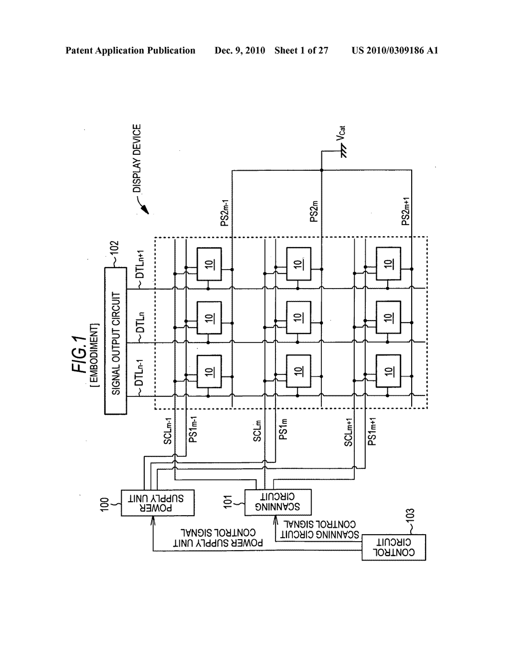 Drive method of display device - diagram, schematic, and image 02