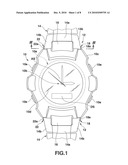 WATCHBAND ATTACHING STRUCTURE AND WRISTWATCH WITH THE STRUCTURE diagram and image