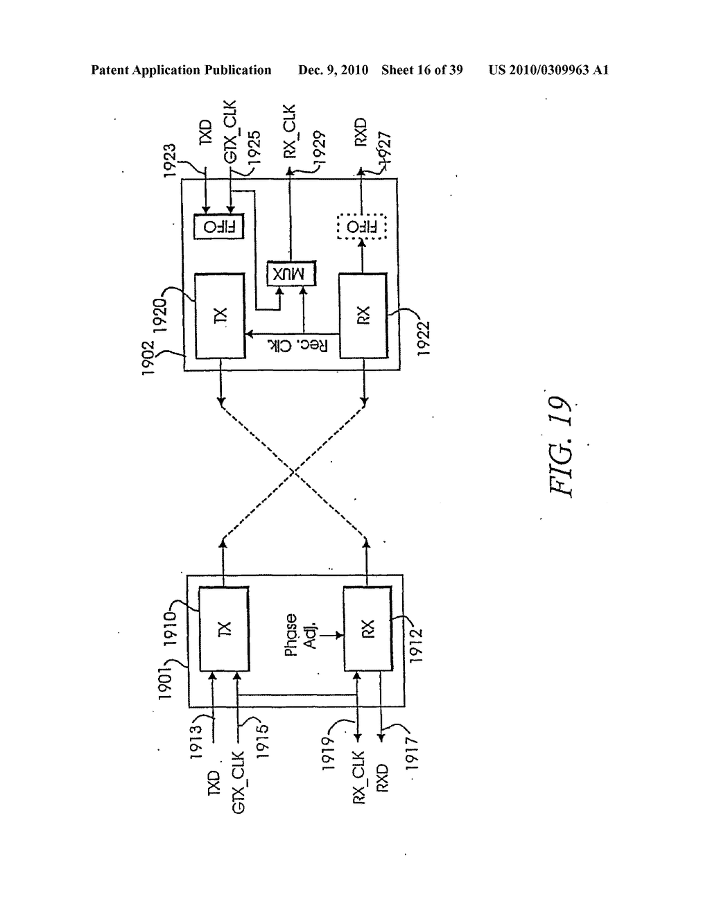 MULTI-PAIR GIGABIT ETHERNET TRANSCEIVER HAVING ADAPTIVE DISABLING OF CIRCUIT ELEMENTS - diagram, schematic, and image 17