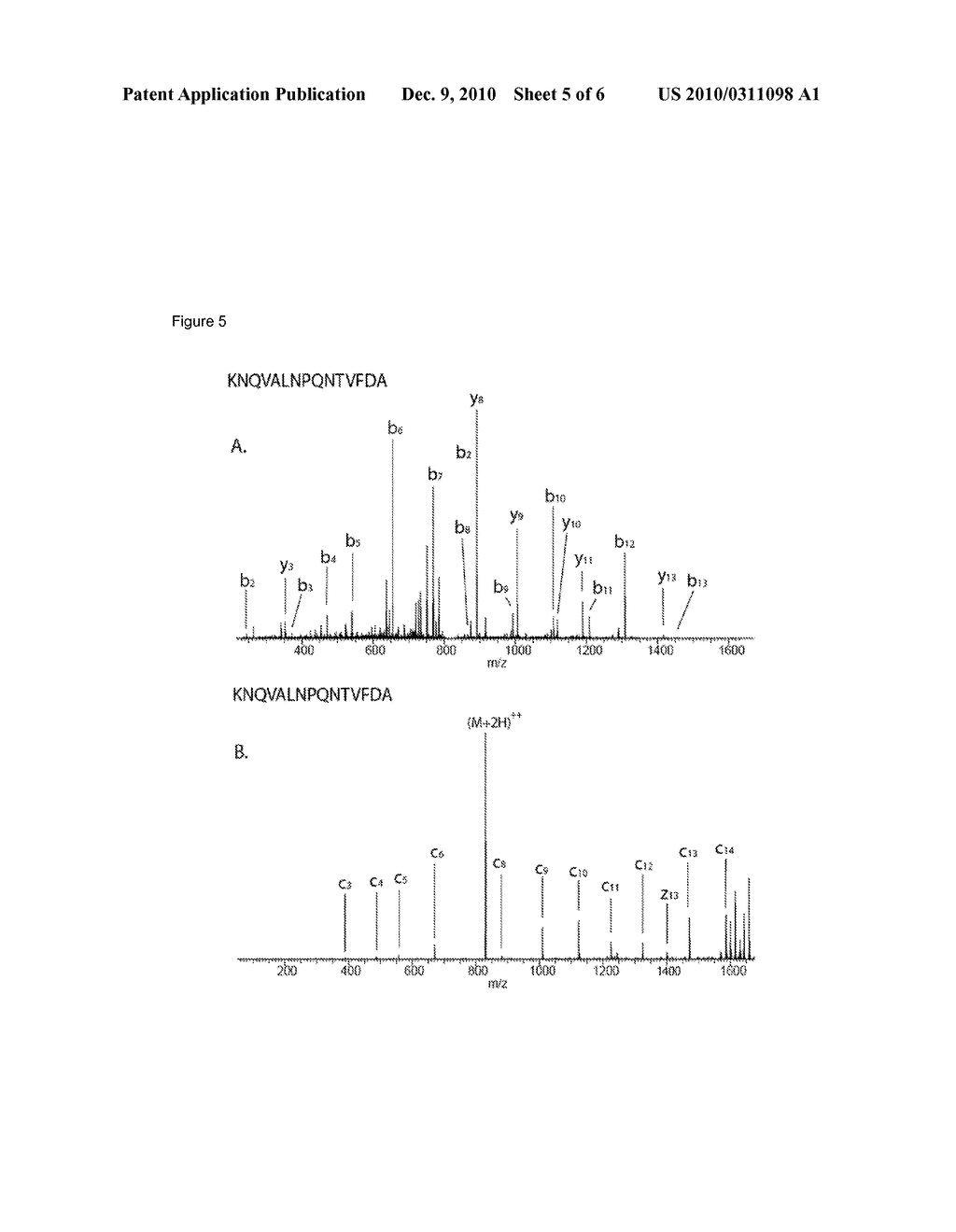 METHOD FOR DETERMINING THE AMINO ACID SEQUENCE OF PEPTIDES - diagram, schematic, and image 06