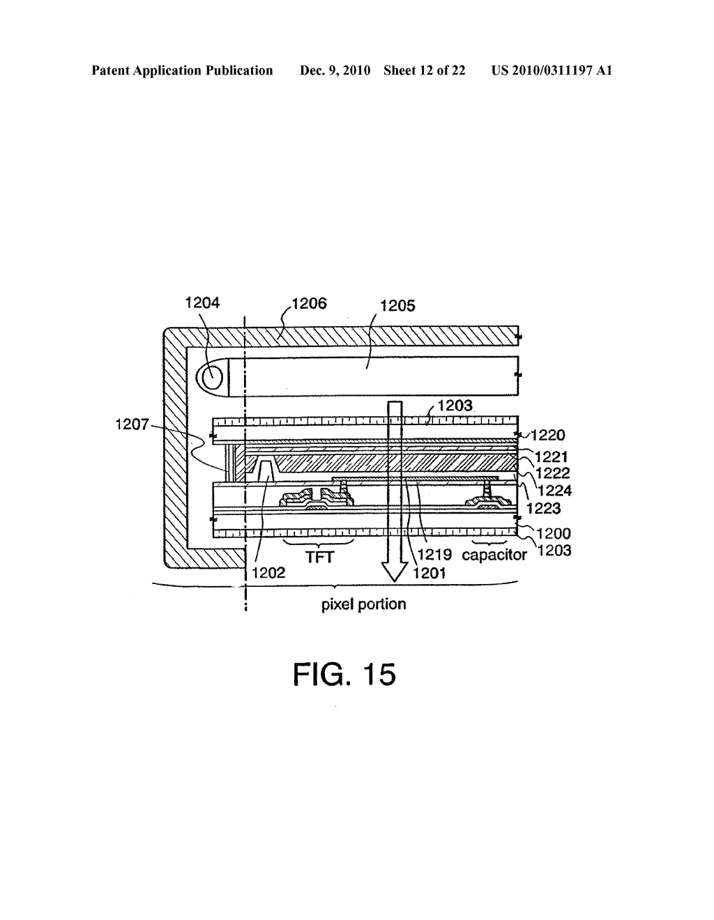 LIQUID CRYSTAL DISPLAY DEVICE AND METHOD FOR MANUFACTURING THE SAME - diagram, schematic, and image 13