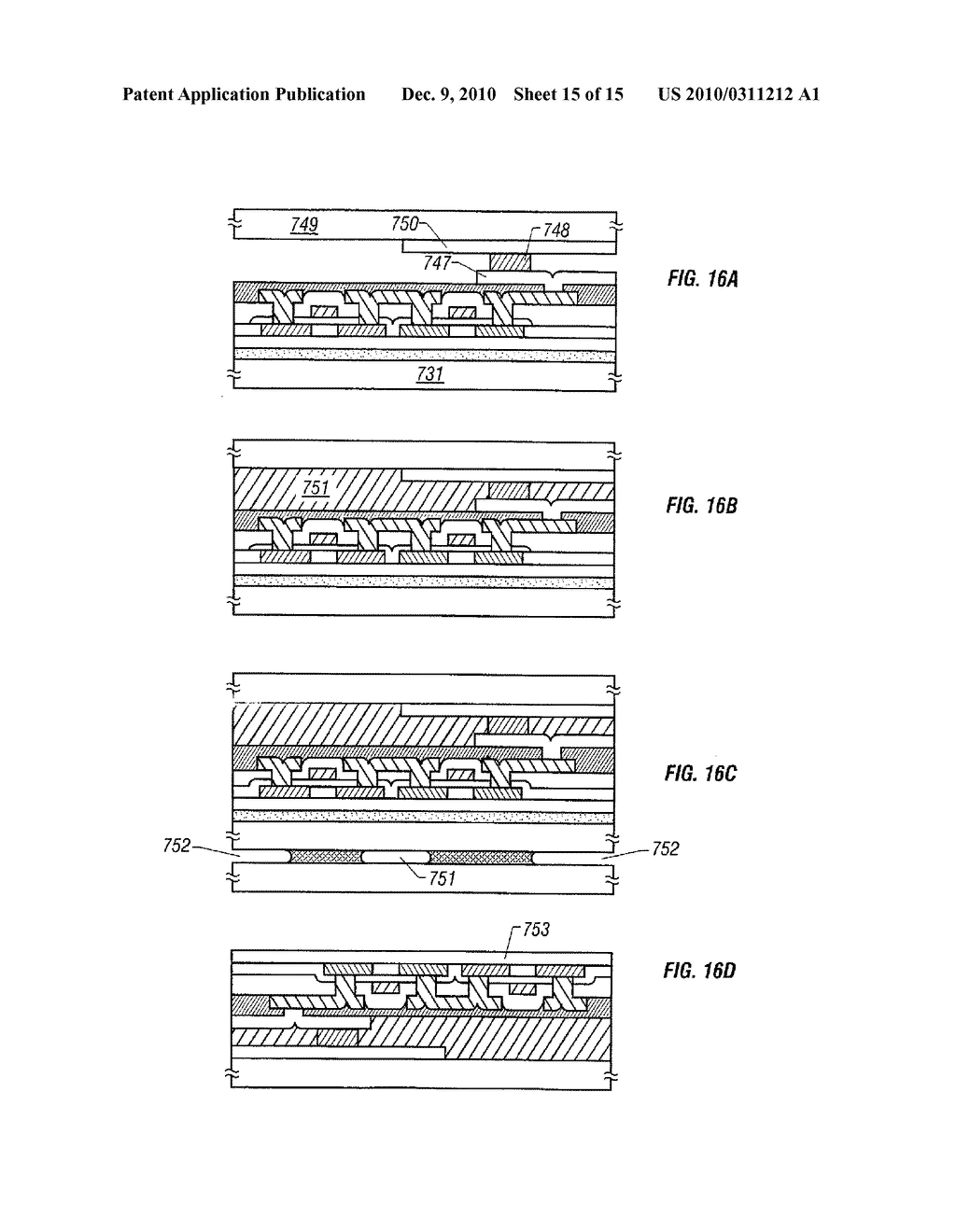 METHOD FOR PRODUCING DISPLAY DEVICE - diagram, schematic, and image 16