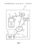 MOBILE SYSTEM FOR PROVIDING PERSONALIZED INFORMATION diagram and image