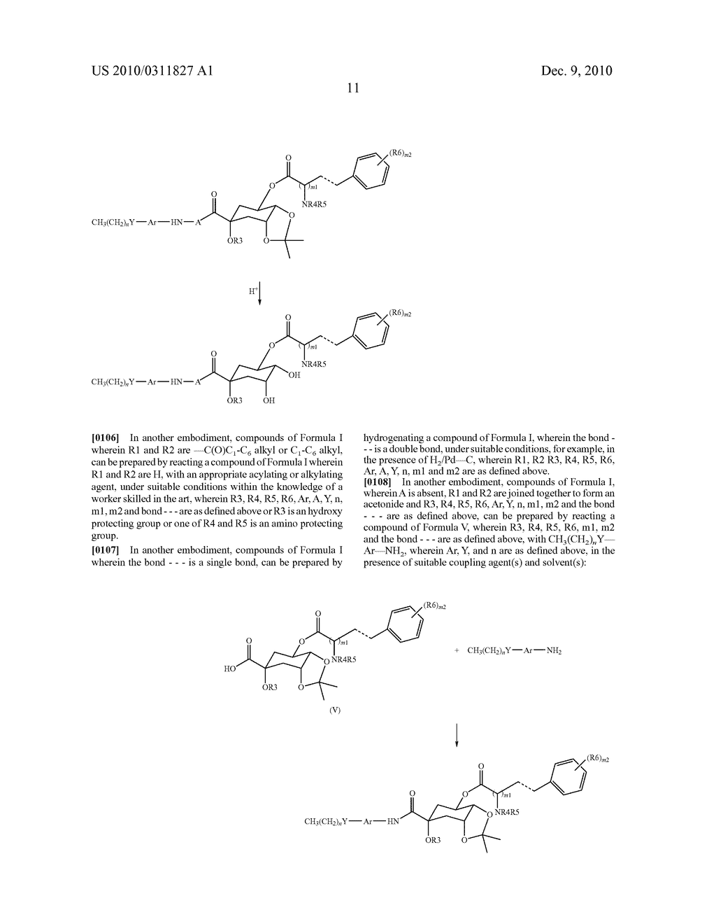 Chlorogenic acid derivatives and their use as anti-fungal agents - diagram, schematic, and image 14