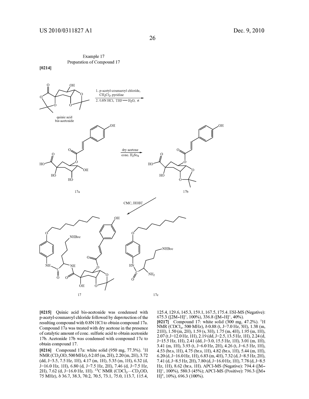 Chlorogenic acid derivatives and their use as anti-fungal agents - diagram, schematic, and image 29