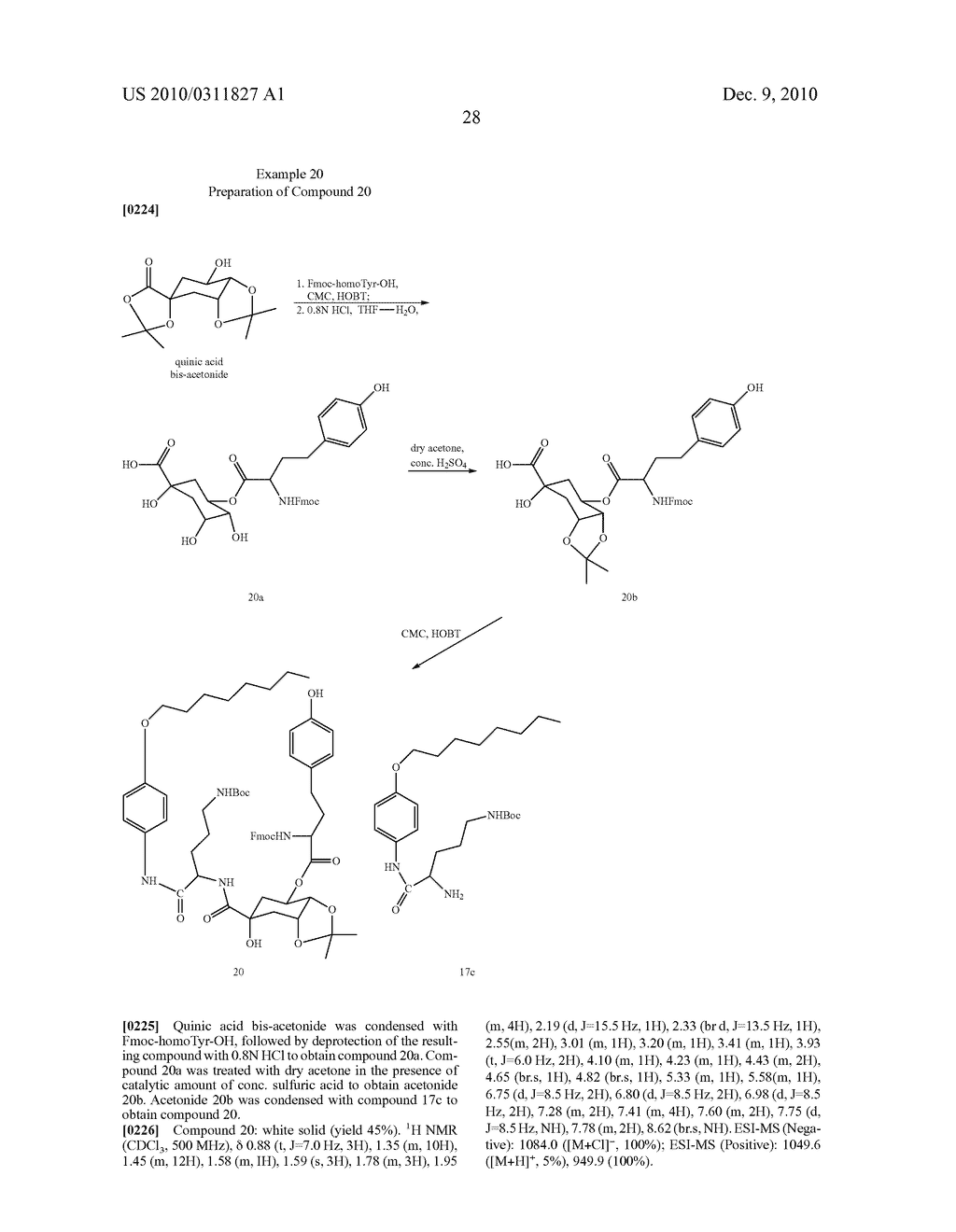 Chlorogenic acid derivatives and their use as anti-fungal agents - diagram, schematic, and image 31
