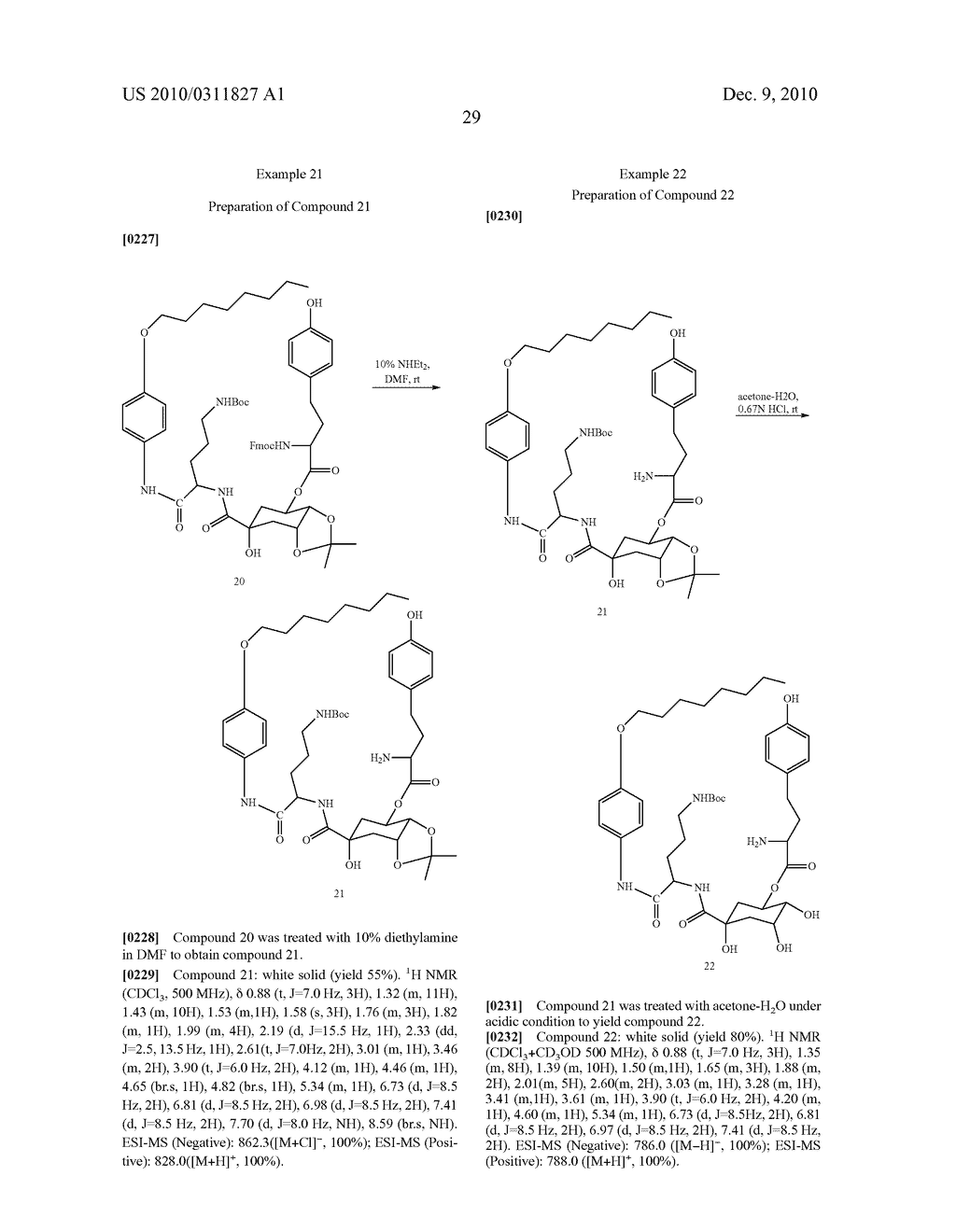 Chlorogenic acid derivatives and their use as anti-fungal agents - diagram, schematic, and image 32