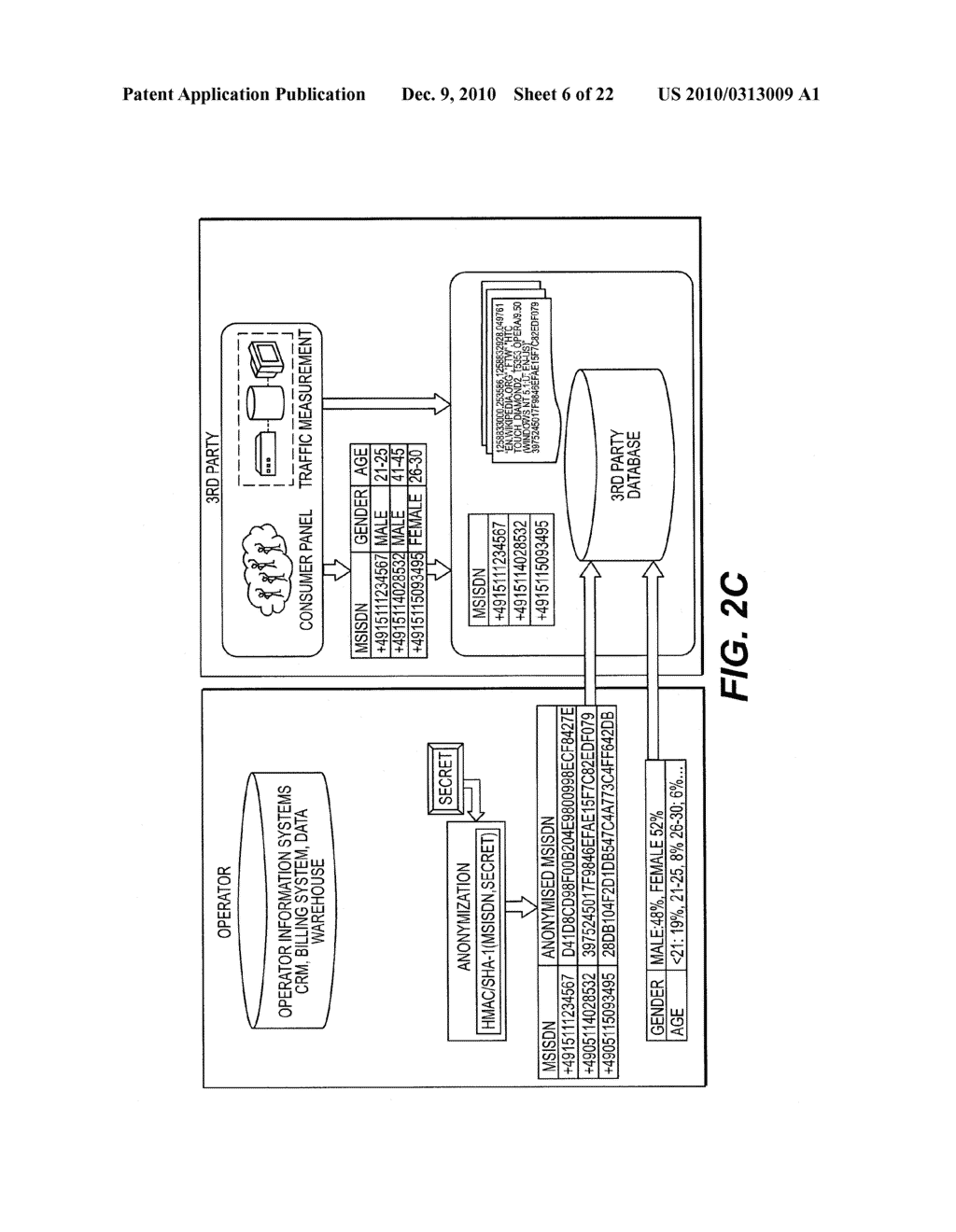 SYSTEM AND METHOD TO ENABLE TRACKING OF CONSUMER BEHAVIOR AND ACTIVITY - diagram, schematic, and image 07
