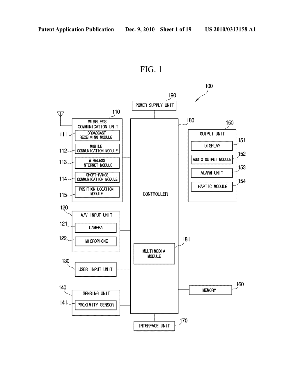 METHOD FOR EDITING DATA IN MOBILE TERMINAL AND MOBILE TERMINAL USING THE SAME - diagram, schematic, and image 02