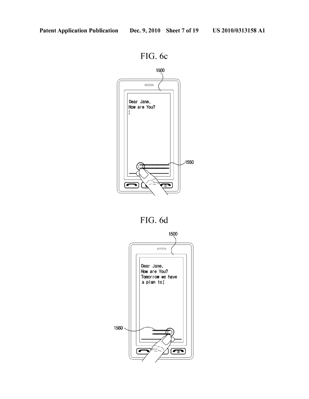 METHOD FOR EDITING DATA IN MOBILE TERMINAL AND MOBILE TERMINAL USING THE SAME - diagram, schematic, and image 08