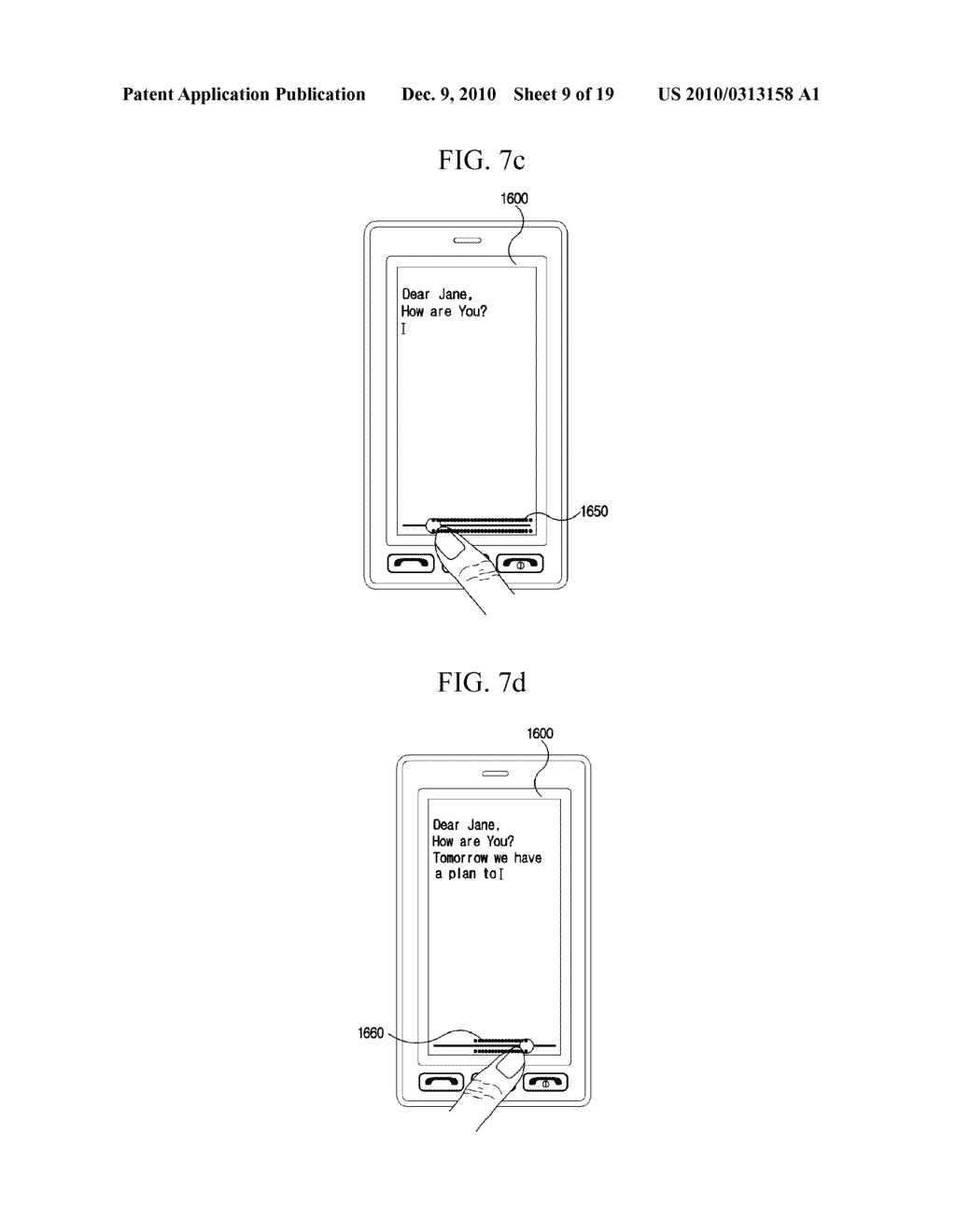 METHOD FOR EDITING DATA IN MOBILE TERMINAL AND MOBILE TERMINAL USING THE SAME - diagram, schematic, and image 10