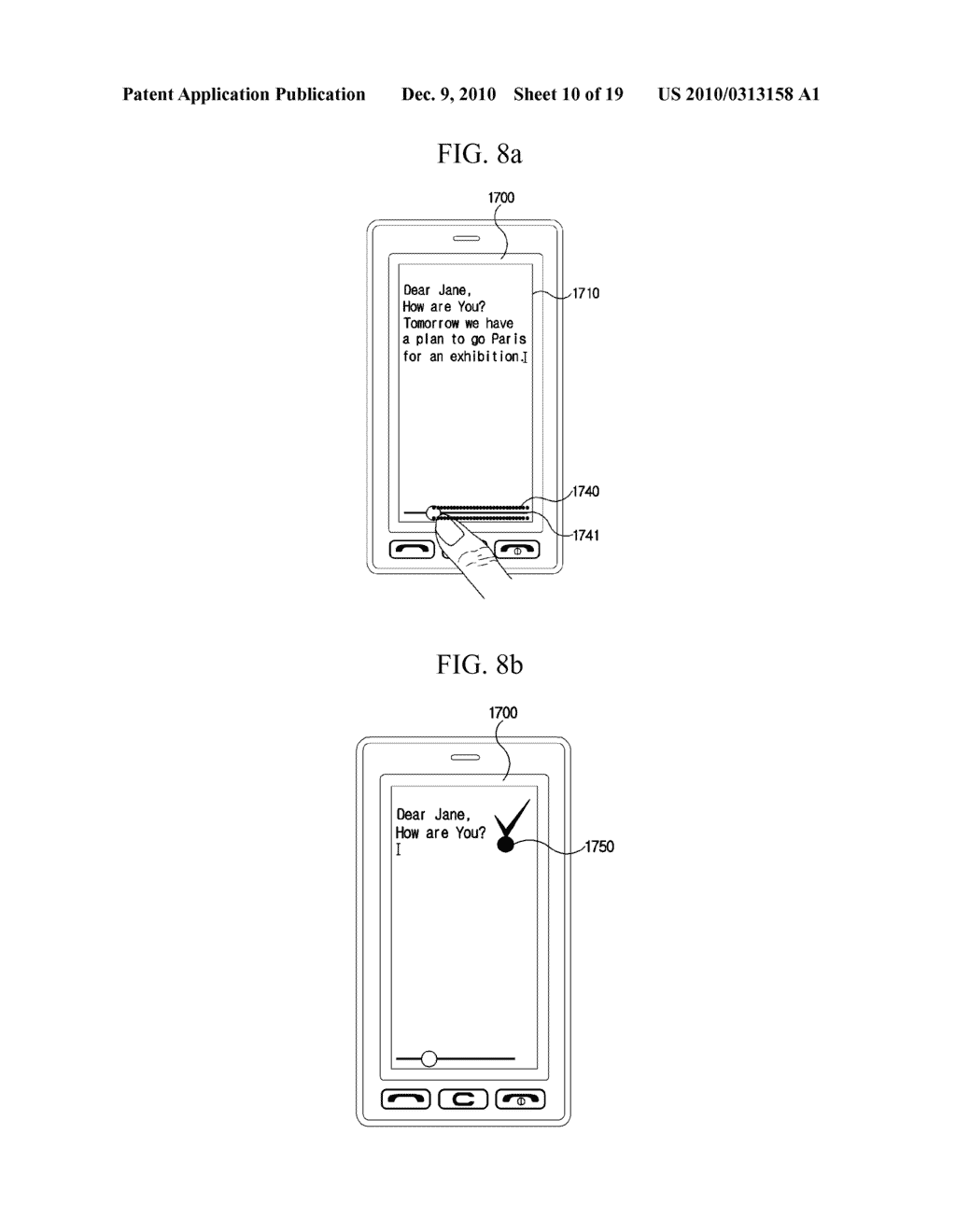 METHOD FOR EDITING DATA IN MOBILE TERMINAL AND MOBILE TERMINAL USING THE SAME - diagram, schematic, and image 11
